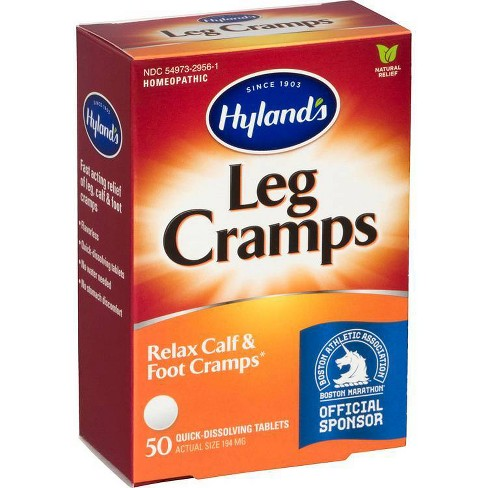 Hyland's Leg Cramps  Dissolving Tablets - Homeopathic - 50ct - image 1 of 4