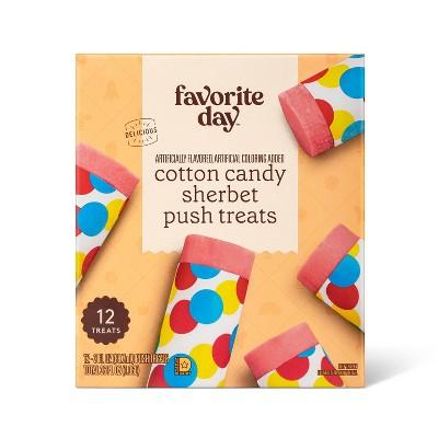 Cotton Candy Sherbet Frozen Push Pop - 36oz/12ct - Favorite Day™