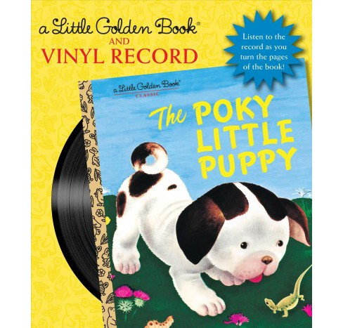 Poky Little Puppy : Vinyl Record Included -  by Janette Sebring Lowrey (Paperback) - image 1 of 1