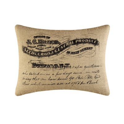"C&F Home 18"" x 24"" General Produce Burlap Printed Pillow"