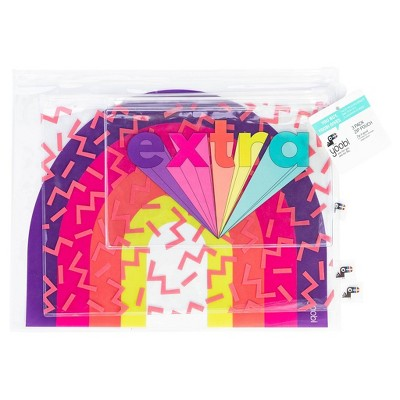 3pk Zip Pencil Cases   Yoobi by Yoobi