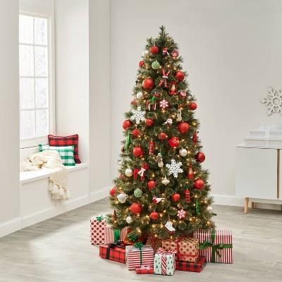 85pc Snowed in Red Christmas Ornament Kit - Wondershop™