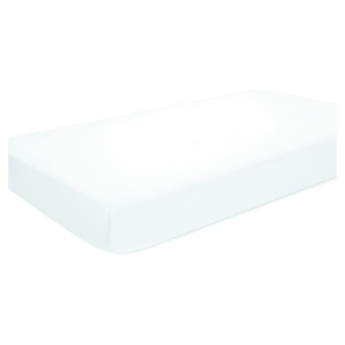 Aden® by Aden + Anais® Fitted Crib Sheet - White - image 1 of 3