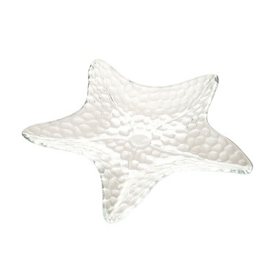 C&F Home Clear Starfish Plate