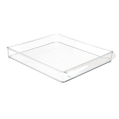 InterDesign Fridge and Freezer Storage Tray Large Clear