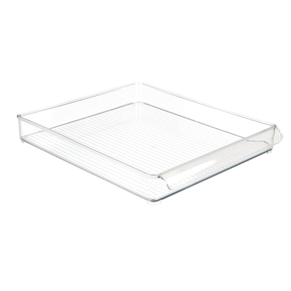 InterDesign Fridge and Freezer Storage Tray Large Clear