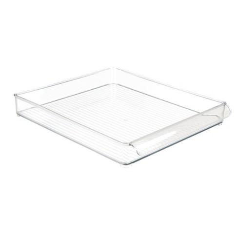 InterDesign Fridge and Freezer Storage Tray Large Clear - image 1 of 4