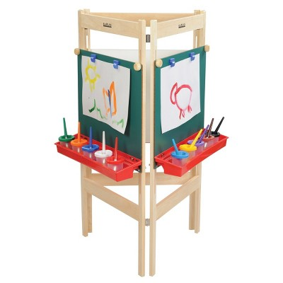Kaplan Early Learning Three-Way Easel