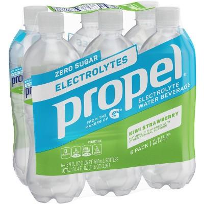 Propel Zero Kiwi Strawberry Nutrient Enhanced Water - 6pk/16.9 fl oz Bottles