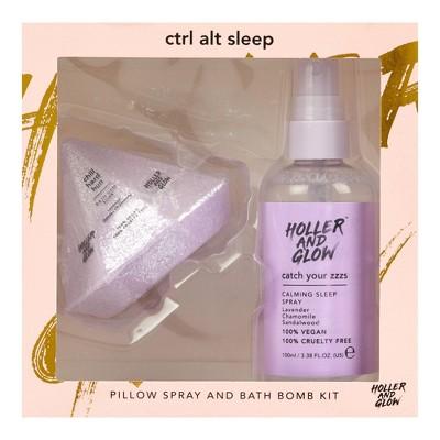 Holler and Glow Ctrl Alt Sleep Set - 2ct/8.67oz