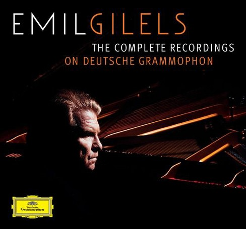 Emil Gilels - Gilels:Comp Recordings On Deutsche Gr (CD) - image 1 of 1