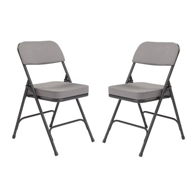 Set of 2 Premium Padded Folding Chairs - Hampton Collection