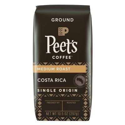 Peet's Costa Rica Single Origin Medium Roast Ground Coffee 10.5oz