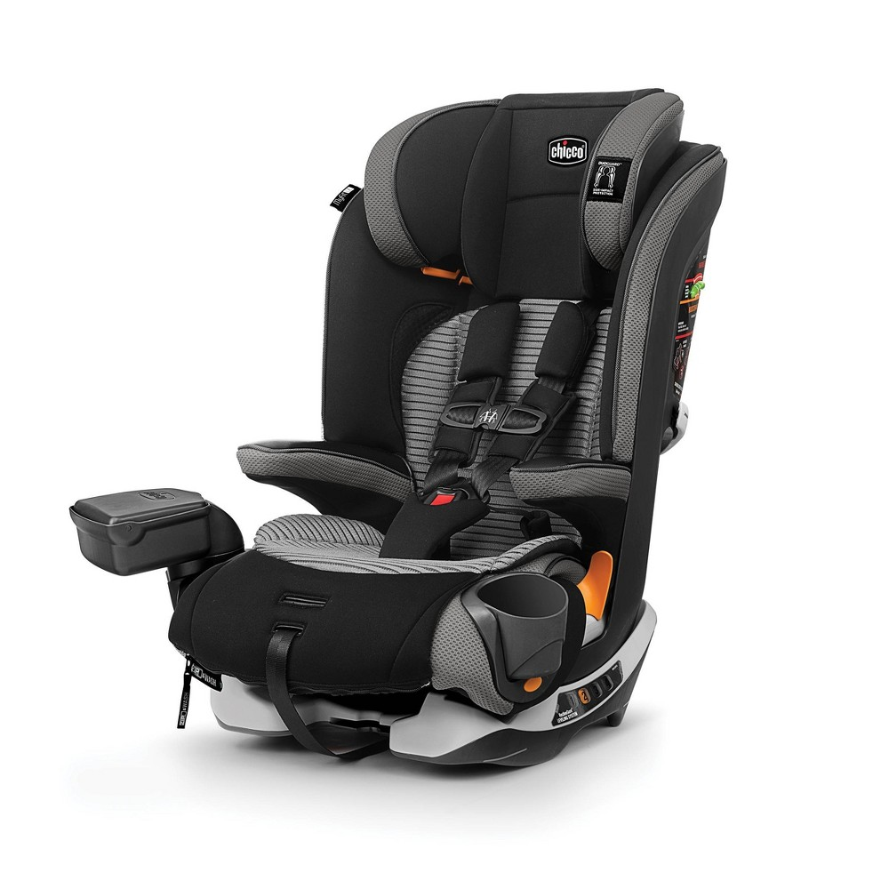 Image of Chicco MyFit Zip Air Harness Booster Car Seat - Q Collection, Gray