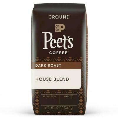 Peet's House Blend Dark Roast Ground Coffee - 12oz
