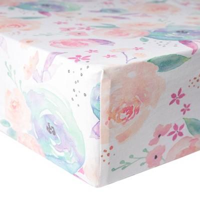Copper Pearl Premium Crib Sheet - Bloom