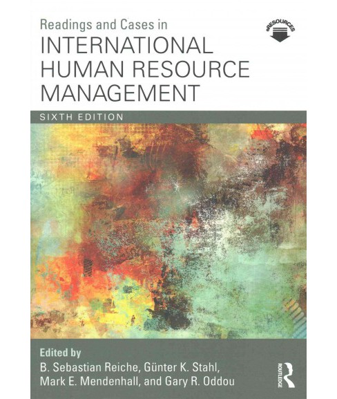 Readings and Cases in International Human Resource Management (Paperback) - image 1 of 1