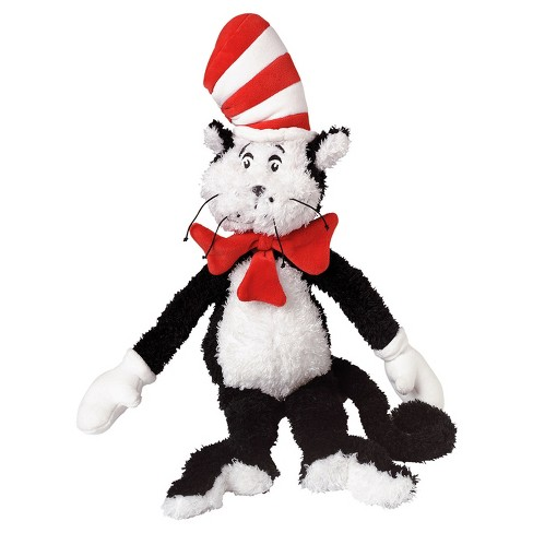 Manhattan Toy Dr Seuss Cat In The Hat 20 Soft Plush Toy Target