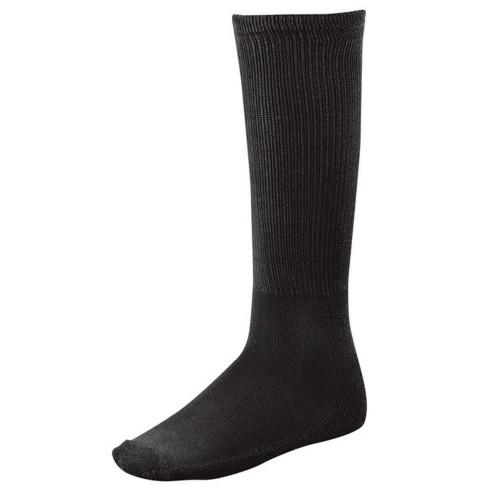 TCK Team Sock Solid Adult Shoe Size 6-9 Black - image 1 of 1