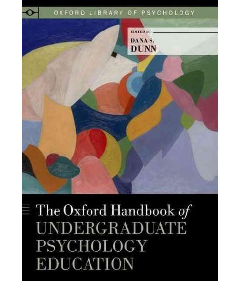 Oxford Handbook of Undergraduate Psychology Education (Hardcover) - image 1 of 1