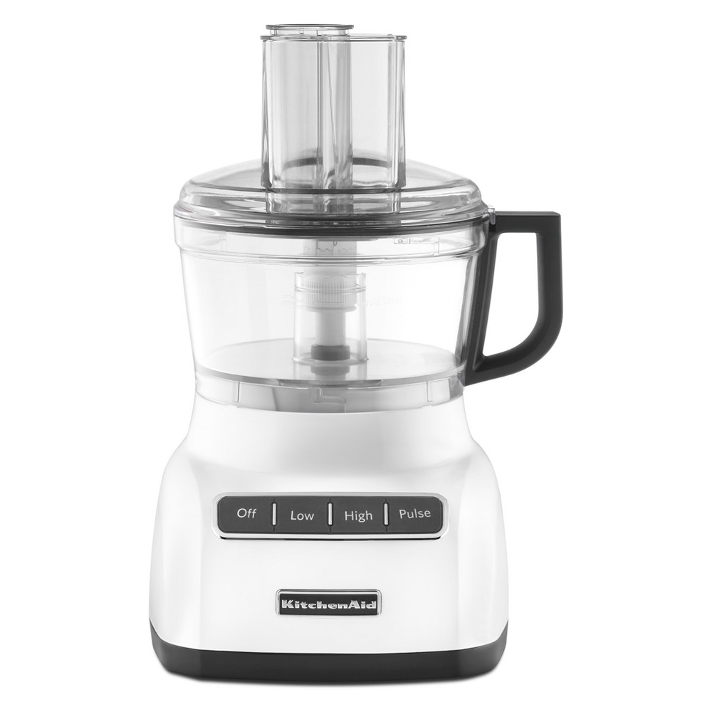 KitchenAid Refurbished 7 Cup Food Processor – White RKFP0711WH 53422792