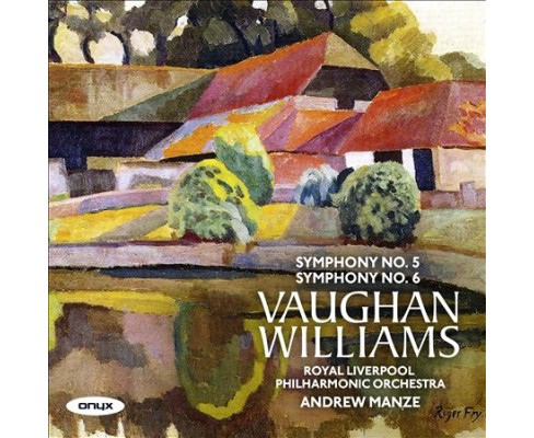 Andrew Manze - Vaughan Williams:Symphonies 5 & 6 (CD) - image 1 of 1