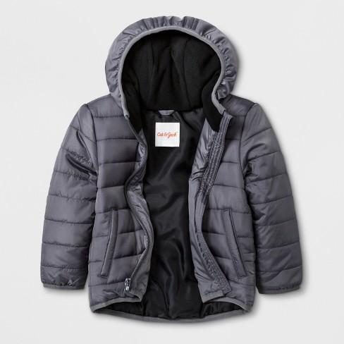 71e502855 Toddler Boys  Hooded Fashion Jacket - Cat   Jack™ Gray   Target
