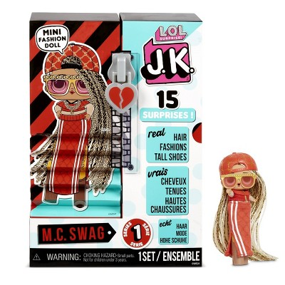 L.O.L. Surprise! JK M.C. Swag Mini Fashion Doll