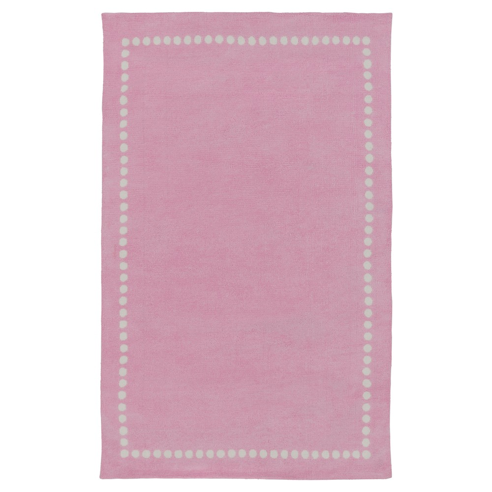 Bright Pink Lamoine Kid's Area Rug 5'x8' - Surya