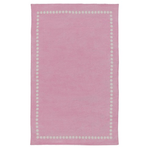 Bright Pink Lamoine Kid's Accent Rug (2'x3') - Surya® - image 1 of 1