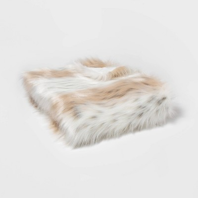 faux-fur-snow-leopard-throw-blanket--threshold by shop-this-collection