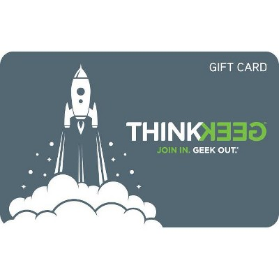 ThinkGeek Gift Card (Email Delivery)