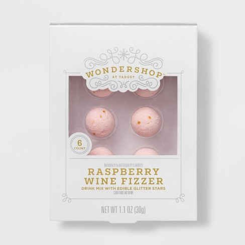 Raspberry Flavored Sparkling Wine Fizzers - 6pk - Wondershop™ - image 1 of 1