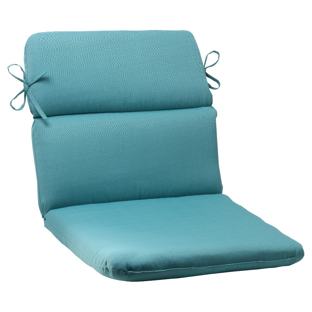 Outdoor Rounded Chair Cushion Forsyth Solid