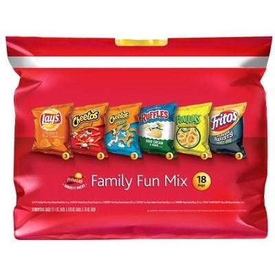 Frito-Lay Variety Pack Family Fun Mix - 18ct