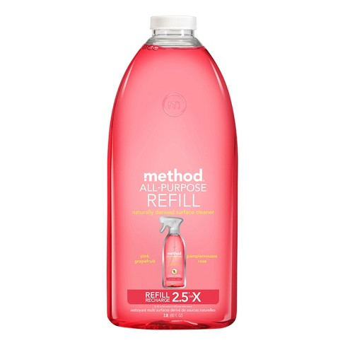 Method® All Purpose Cleaner Refill Pink Grapefruit - 68 fl oz - image 1 of 2