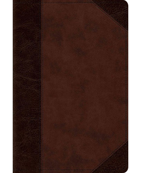Holy Bible : English Standard Version, TruTone, Brown/Walnut, Portfolio, Personal Reference (Paperback) - image 1 of 1