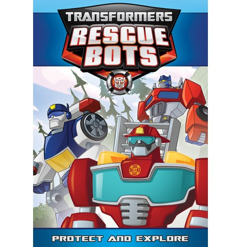 Transformers Rescue Bots:Protect And (DVD) - image 1 of 1