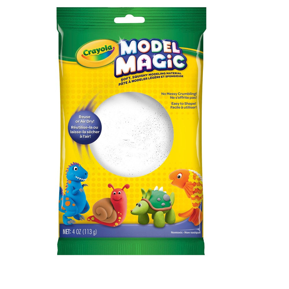 Image of Crayola Model Magic 4oz White