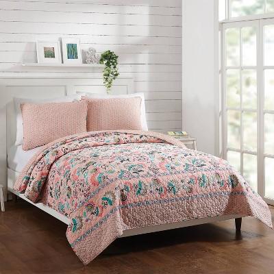 Blush Flowers Quilt Pink - Vera Bradley