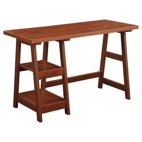 Trestle Desk Cherry - Breighton Home - image 1 of 3