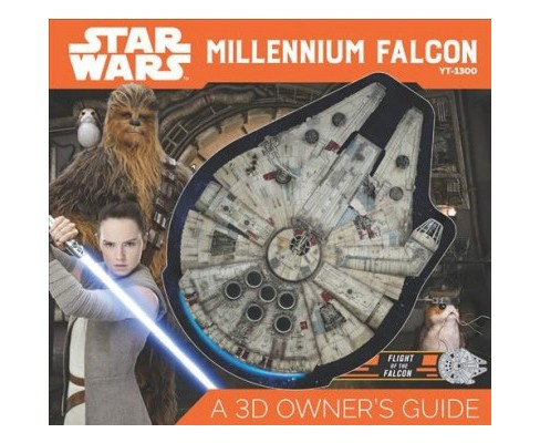 Star Wars Millennium Falcon : A 3D Owner's Guide -  by Ryder Windham & Cole Horton (Hardcover) - image 1 of 1