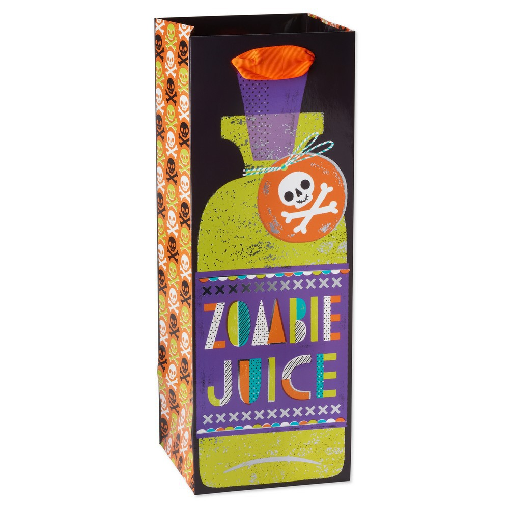 Image of Halloween Thrills Beverage Gift Bag - PAPYRUS