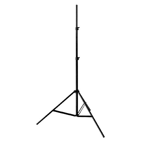 Zuma 6ft Aluminum Adjustable Lighting Stand - Black (Z-LS06) - image 1 of 3