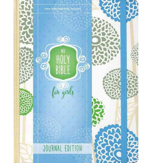 Holy Bible : New International Version, Mint, Elastic Closure, For Girls, Journal Edition (Hardcover) - image 1 of 1