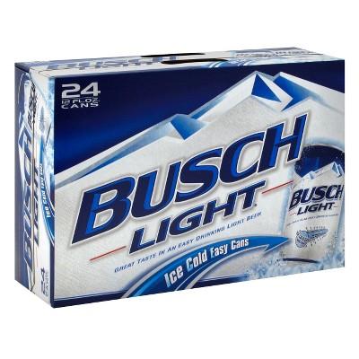 Busch® Light Beer - 24pk / 12oz Cans