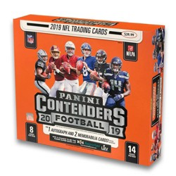 2019 NFL Contenders Football Trading Card Mega Box