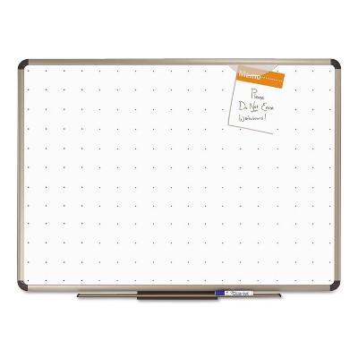 Quartet Prestige Total Erase Whiteboard 48 x 36 White Surface Euro Titanium Frame TE564T
