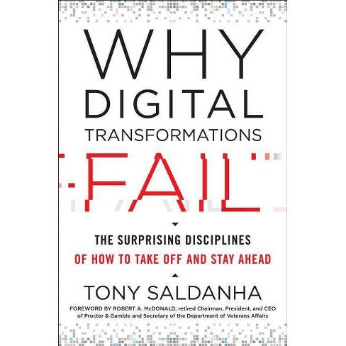 Why Digital Transformations Fail - by  Tony Saldanha (Hardcover) - image 1 of 1
