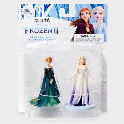 Disney Frozen Anna & Elsa Mini Figure 2pk - Disney store